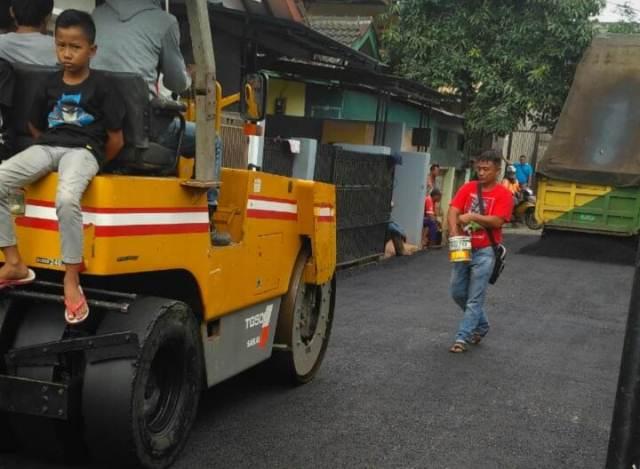 Jasa Pengaspalan Jalan Hotmix Sawangan Depok
