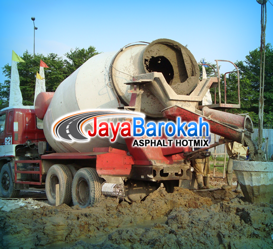 Pengecoran Jalan Beton Ready Mix